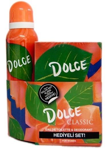 Dolce Dolce Classic Edt 100Ml+Deo150Ml Kadın Parfüm Set Renksiz